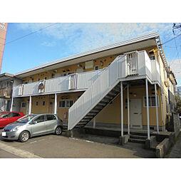 新潟県新潟市中央区笹口1丁目の賃貸アパートの外観