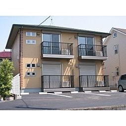 静岡県富士市国久保1丁目の賃貸アパートの外観