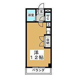 グランテラス柏木[2階]の間取り