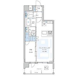Portside Urban Residence[402号室]の間取り