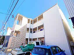 埼玉県ふじみ野市鶴ケ舞2の賃貸アパートの外観