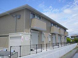 兵庫県姫路市飾磨区西浜町1丁目の賃貸アパートの外観