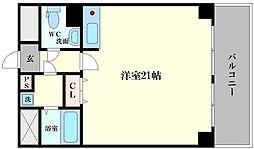 四ツ橋ストークマンション[2階]の間取り