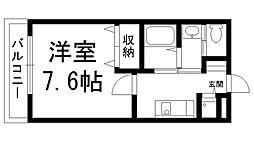リヴィックスマンション[0403号室]の間取り