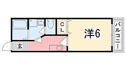 GORI田寺[305号室]の間取り