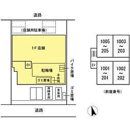 (仮)高島平プロジェクト[205号室]の外観