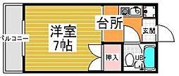 梅崎ビル[405号室]の間取り