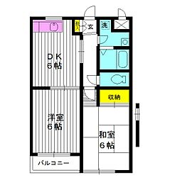 東京都練馬区桜台の賃貸マンションの外観