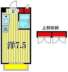 K's FLAT1[3階]の間取り