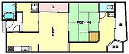 [タウンハウス] 兵庫県神戸市兵庫区楠谷町 の賃貸【/】の間取り