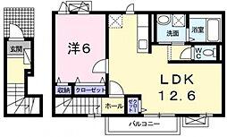 グラースI[2階]の間取り