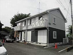 神奈川県平塚市片岡の賃貸アパートの外観