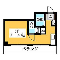 Rattan Appartmento III[3階]の間取り