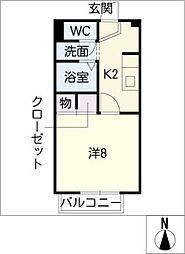 CREA135[1階]の間取り