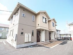 埼玉県川越市大塚2丁目の賃貸アパートの外観
