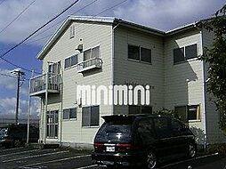 ハイツオーシマ[1階]の外観