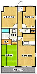アルカディア21[2階]の間取り