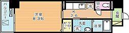 ラインスター三萩野[4階]の間取り