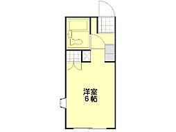 ソフィア青木葉2[2階]の間取り