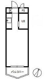 ロマネスク大濠第5[2階]の間取り