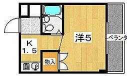 PAL House K[112号室]の間取り