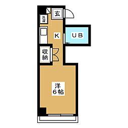 GEM7[4階]の間取り