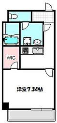 大阪府守口市松町の賃貸マンションの間取り