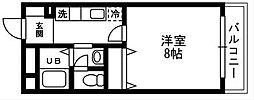 K・Rソナーレ[216号室]の間取り