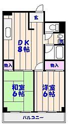 アルファビルディング[3階]の間取り