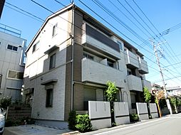 東京都立川市羽衣町2丁目の賃貸アパートの外観