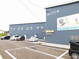 福岡県行橋市大字金屋の賃貸アパートの外観