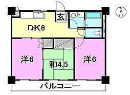 今井マンション[503 号室号室]の間取り