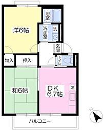 泉ヶ丘駅 徒歩28分2階Fの間取り画像