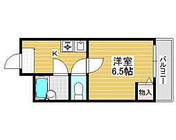 プレアール堺宿院[5階]の間取り