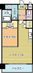 メゾンドソレイユ[305号室]の間取り
