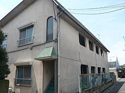 東京都世田谷区上祖師谷3丁目の賃貸アパートの外観