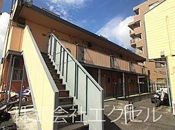 神奈川県相模原市中央区中央6丁目の賃貸アパートの外観
