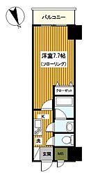 横浜コーヨー八番館[402号室]の間取り