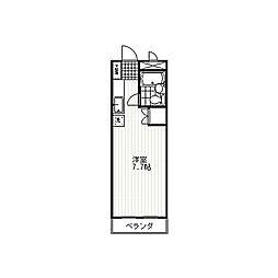 メゾン・ド・パール[5階]の間取り