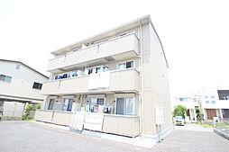 愛知県長久手市片平の賃貸アパートの外観