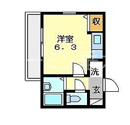 千代ヶ丘マンション[3階]の間取り