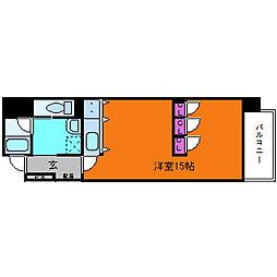 ベリーモンテ新大阪[9階]の間取り