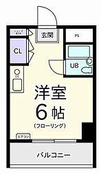 メゾン・ド・ノア・ロゼ錦町[6階]の間取り