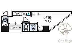 公高貴王ビル(女性限定レディースマンション)[2階]の間取り