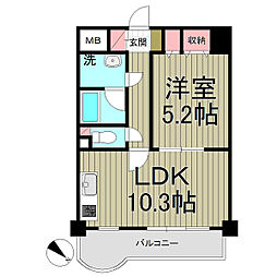 レガート横浜[303号室]の間取り