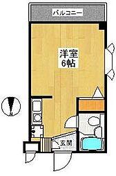 アパートゆう[3階]の間取り