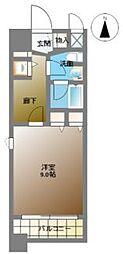 カスタリア堺筋本町[3階]の間取り