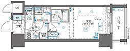 ZOOM川崎Second[9階]の間取り