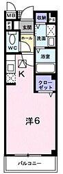 東京都中野区白鷺3丁目の賃貸マンションの間取り