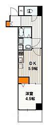 ベラジオ京都西大路II[4階]の間取り